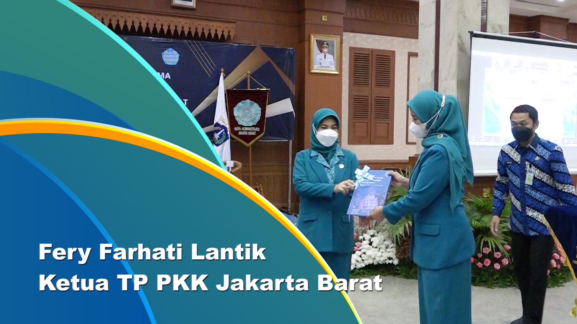 Ketua TP PKK Jakarta Barat Dilantik