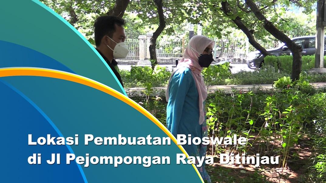 Kawasan Pejompongan Dipilih Jadi Lokasi Pembuatan Bioswale