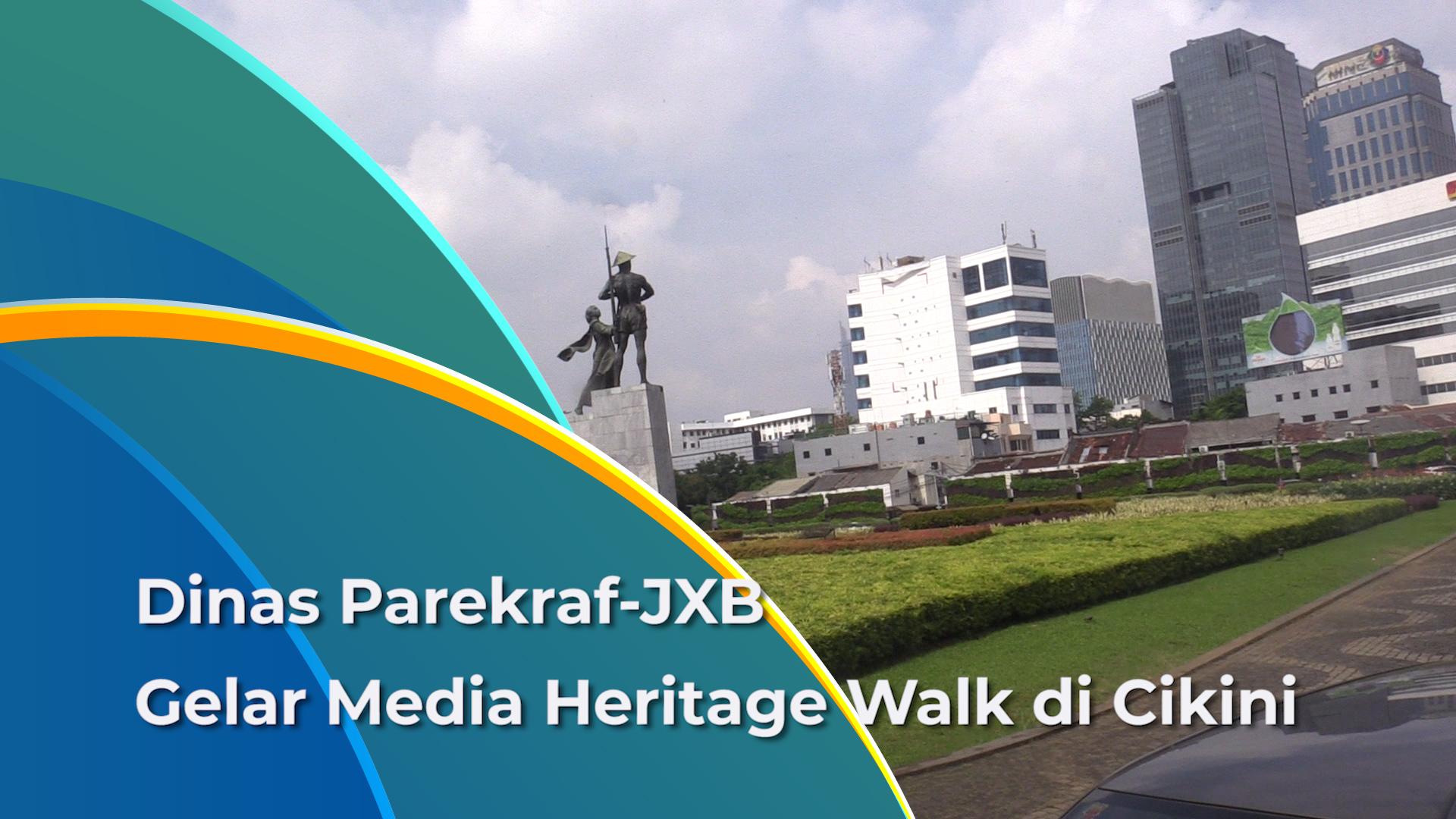 Media Heritage Walk, program perkenalan wisata urban