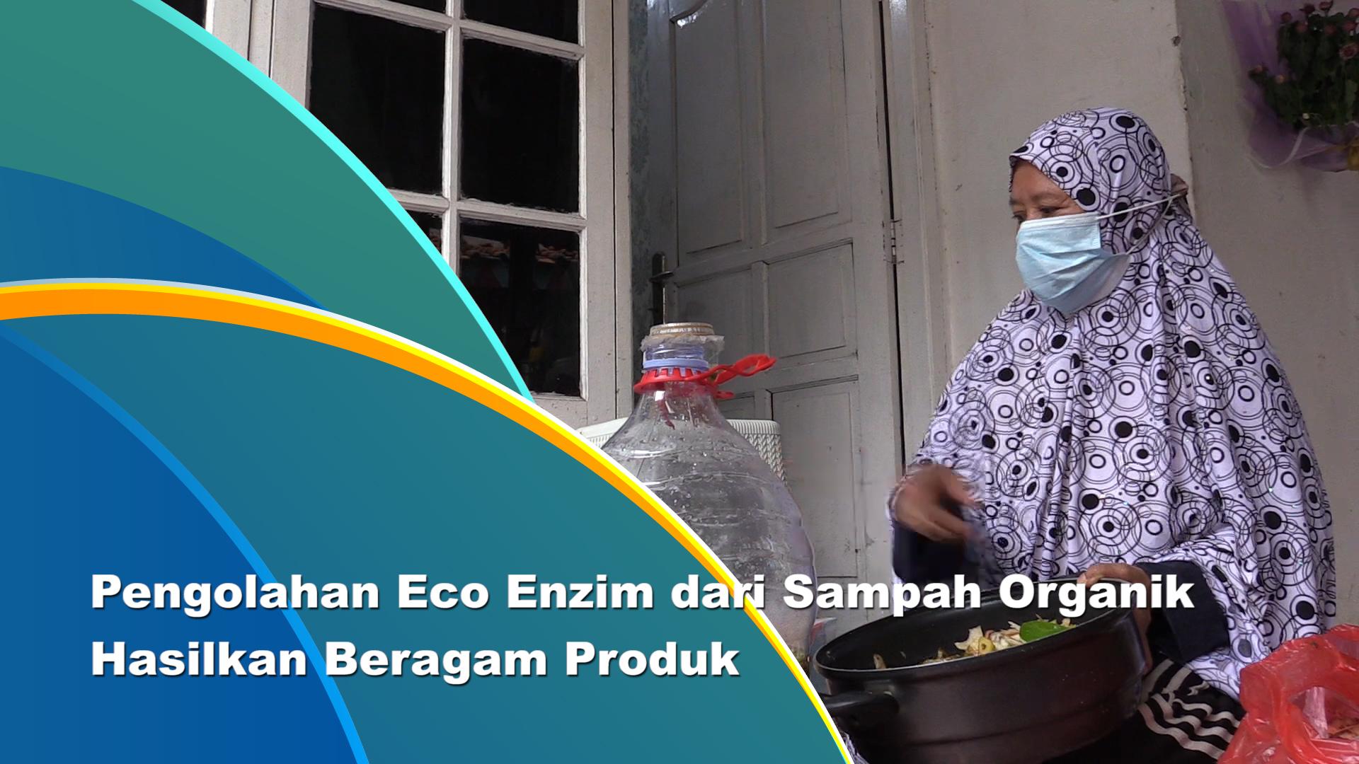 Warga Jagakarsa Sukses Olah Sampah Organik Jadi Eco Enzim