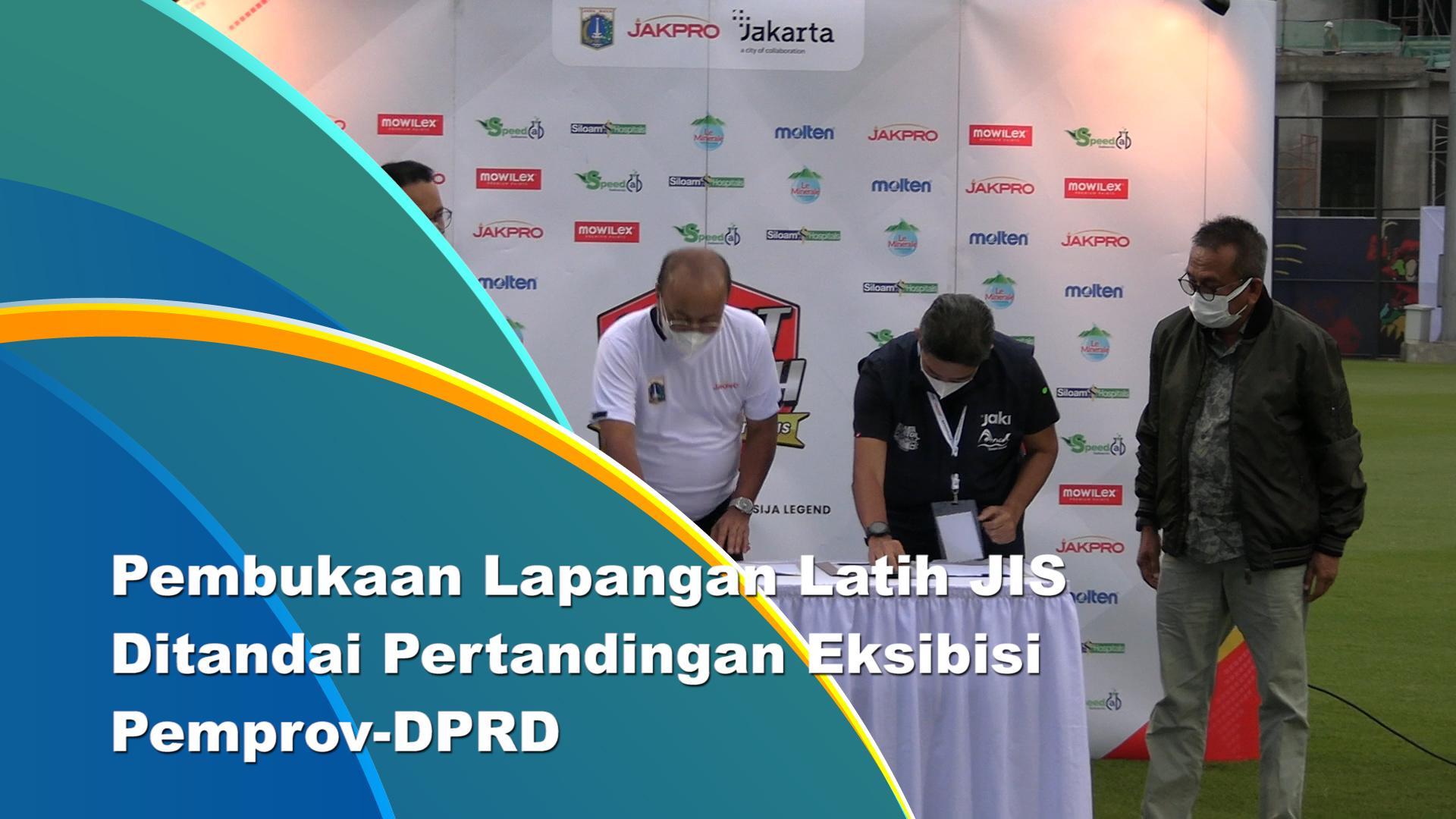 Lapangan Latih Jakarta International Stadium Resmi Dibuka