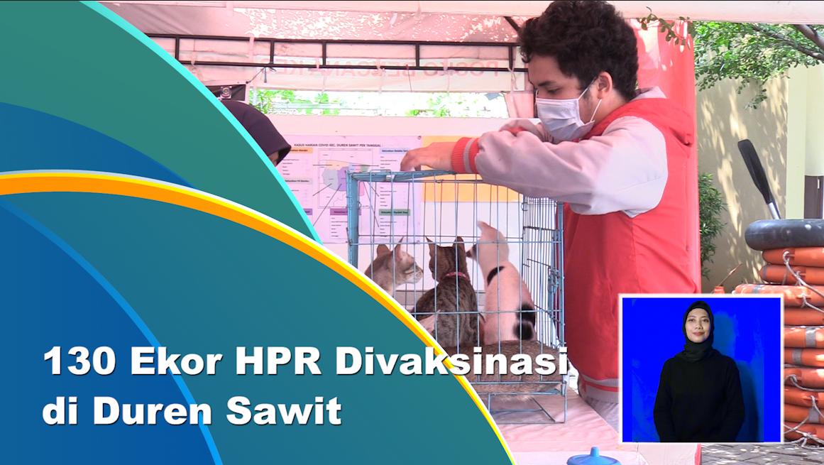 Layanan Vaksinasi HPR Digelar di Duren Sawit